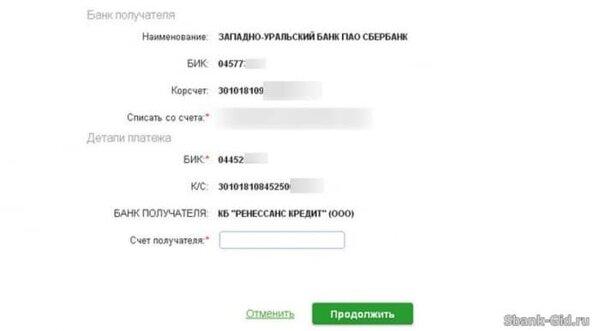 онлайн банк ренессанс кредит вход в личный кабинет сбербанк
