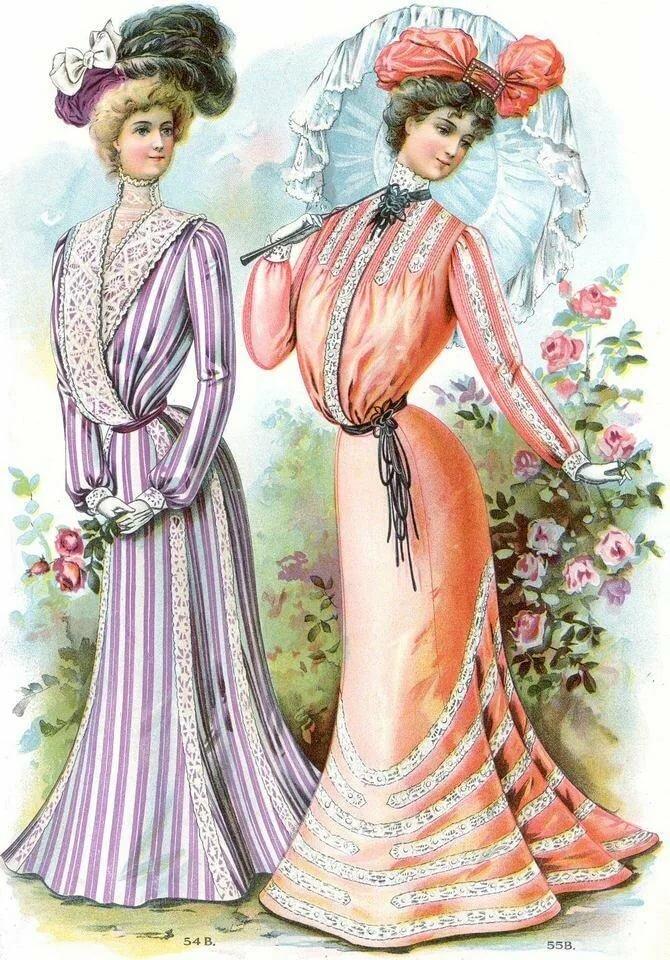 дополнительные одежда всех времен картинки наглядно показывают