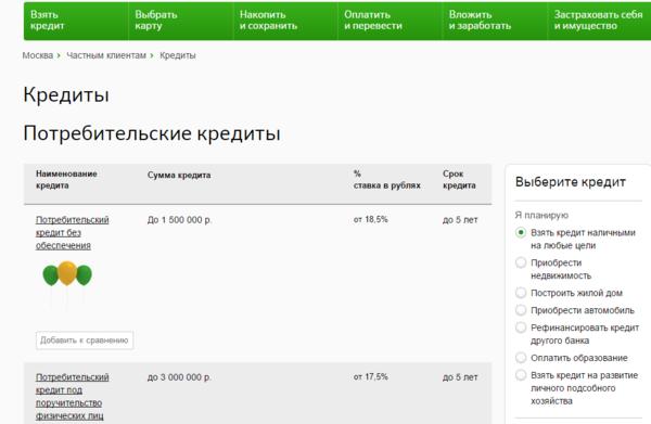 Кредит онлайн с 20 лет сбербанк красноярск инвестирую бизнес