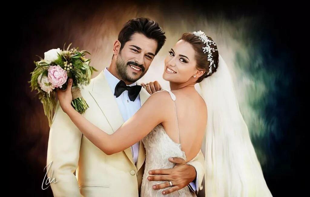 Свадьба бурака и фахрие озчивит фото