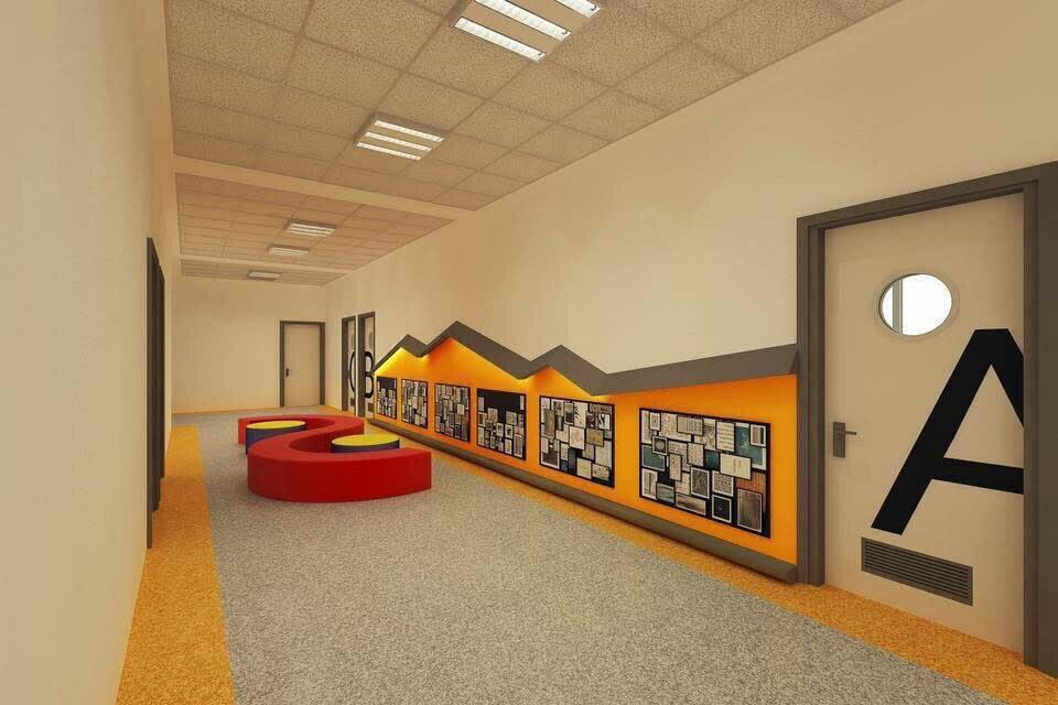Дизайн рекреации в школе картинки