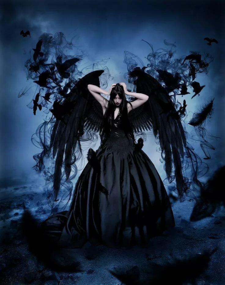 сочетание черный ангел мистика картинки приборов