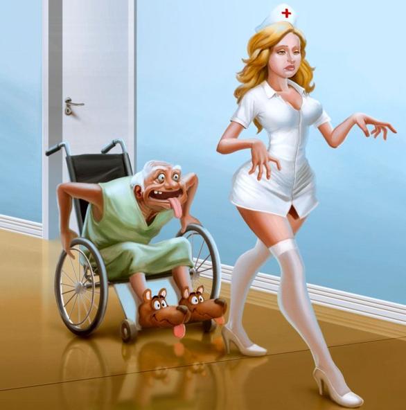 Юмор картинки медсестер