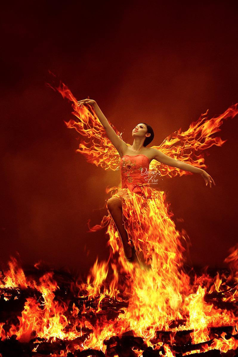 Картинка огненный танец