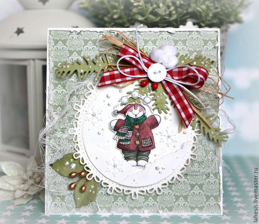 Открытки, ручная работа фото открыток на новый год