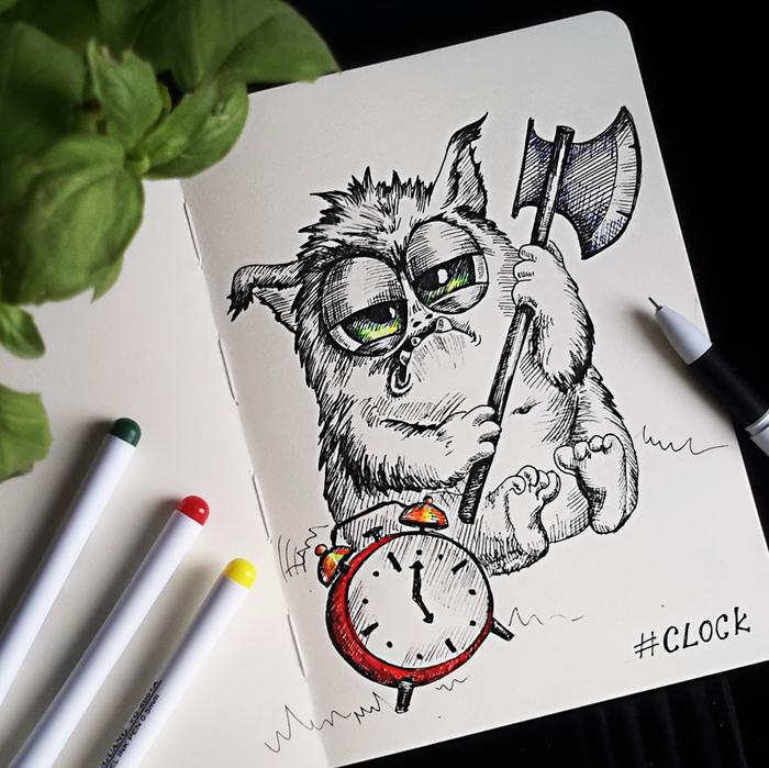 Горжусь тобой, картинки для срисовки смешные котики гелевой ручкой