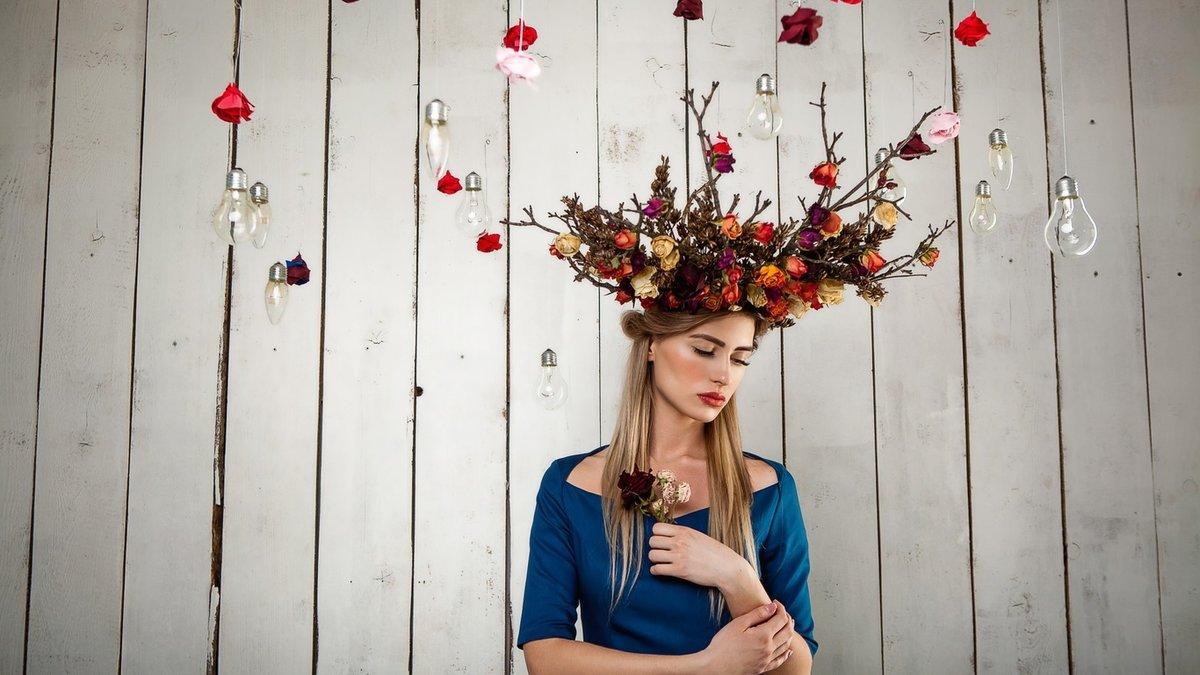 креативные фото с цветами спасатели раз