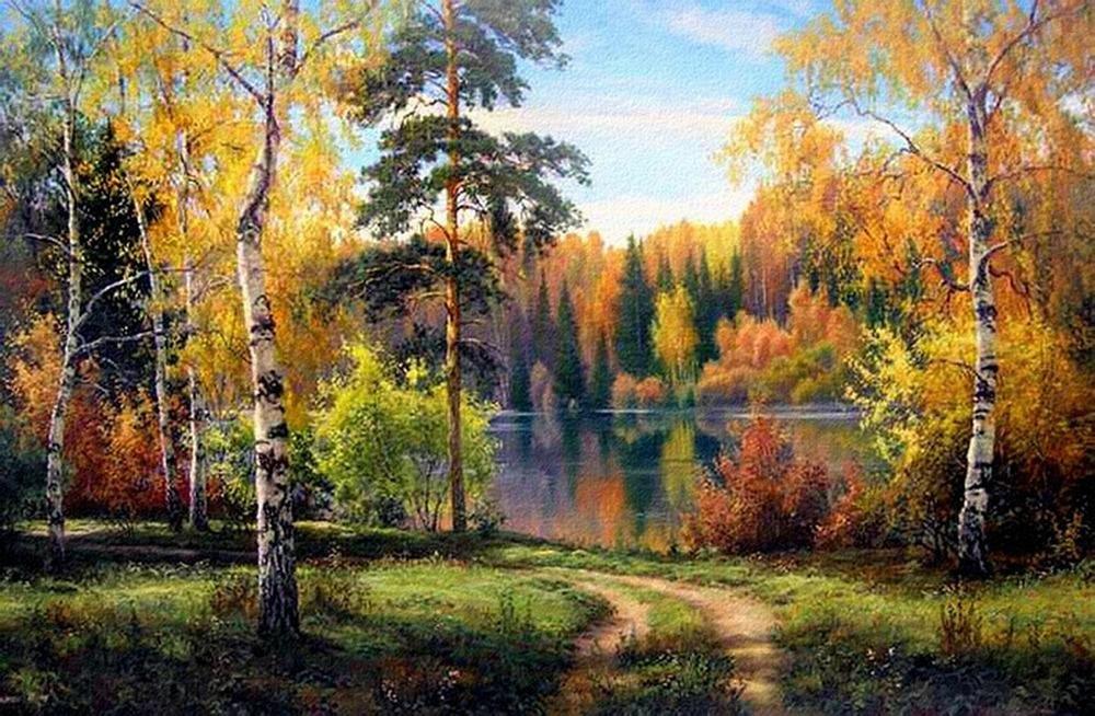 Осень на картинках и в живописи