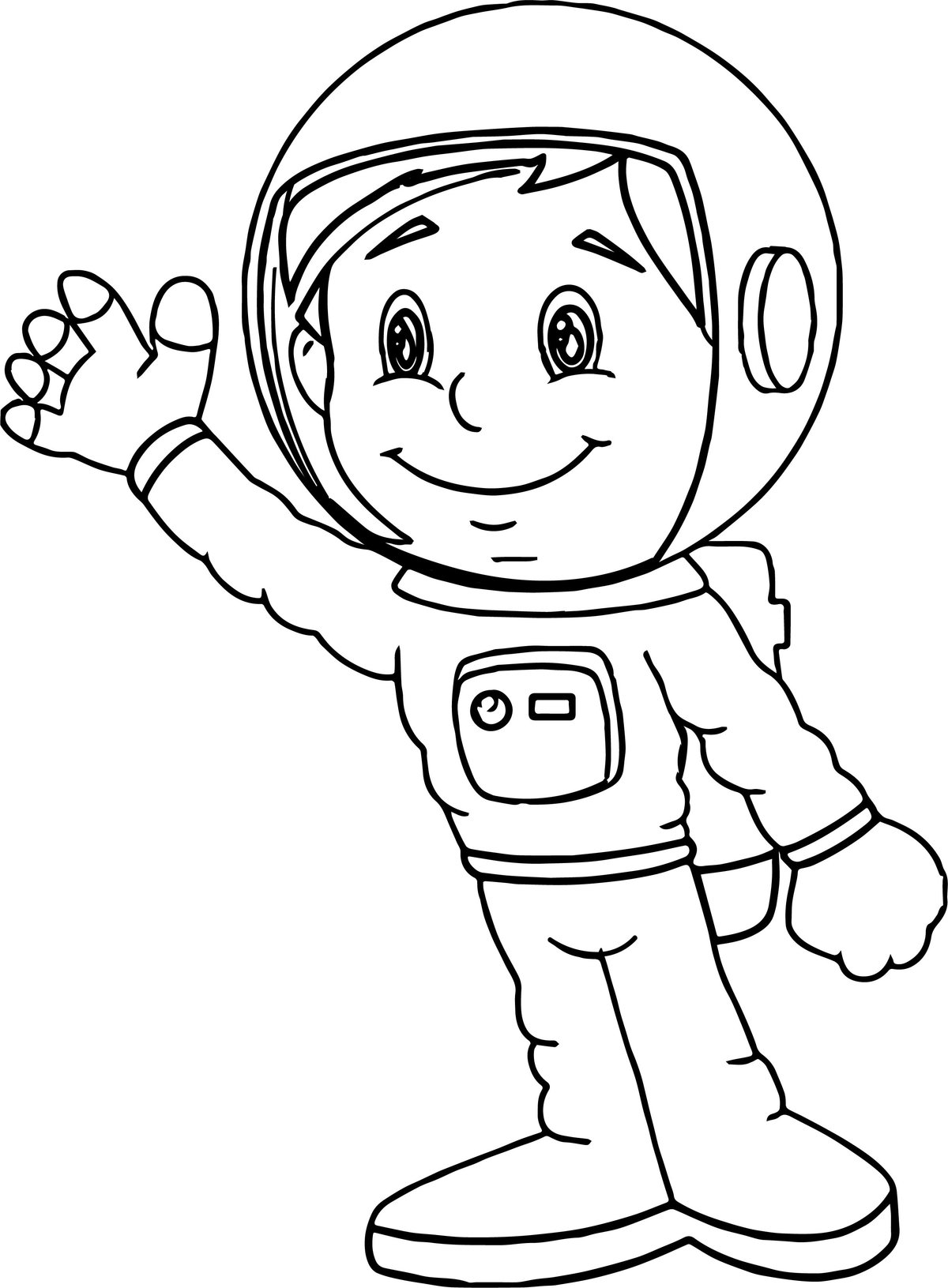 preschool astronaut printables - HD 2507×3407
