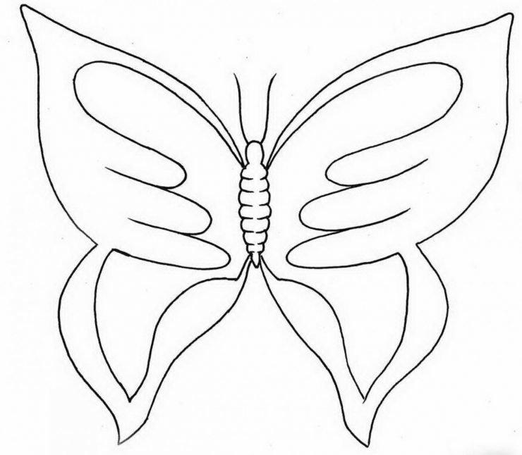 Бабочка картинки вырезанные из бумаги