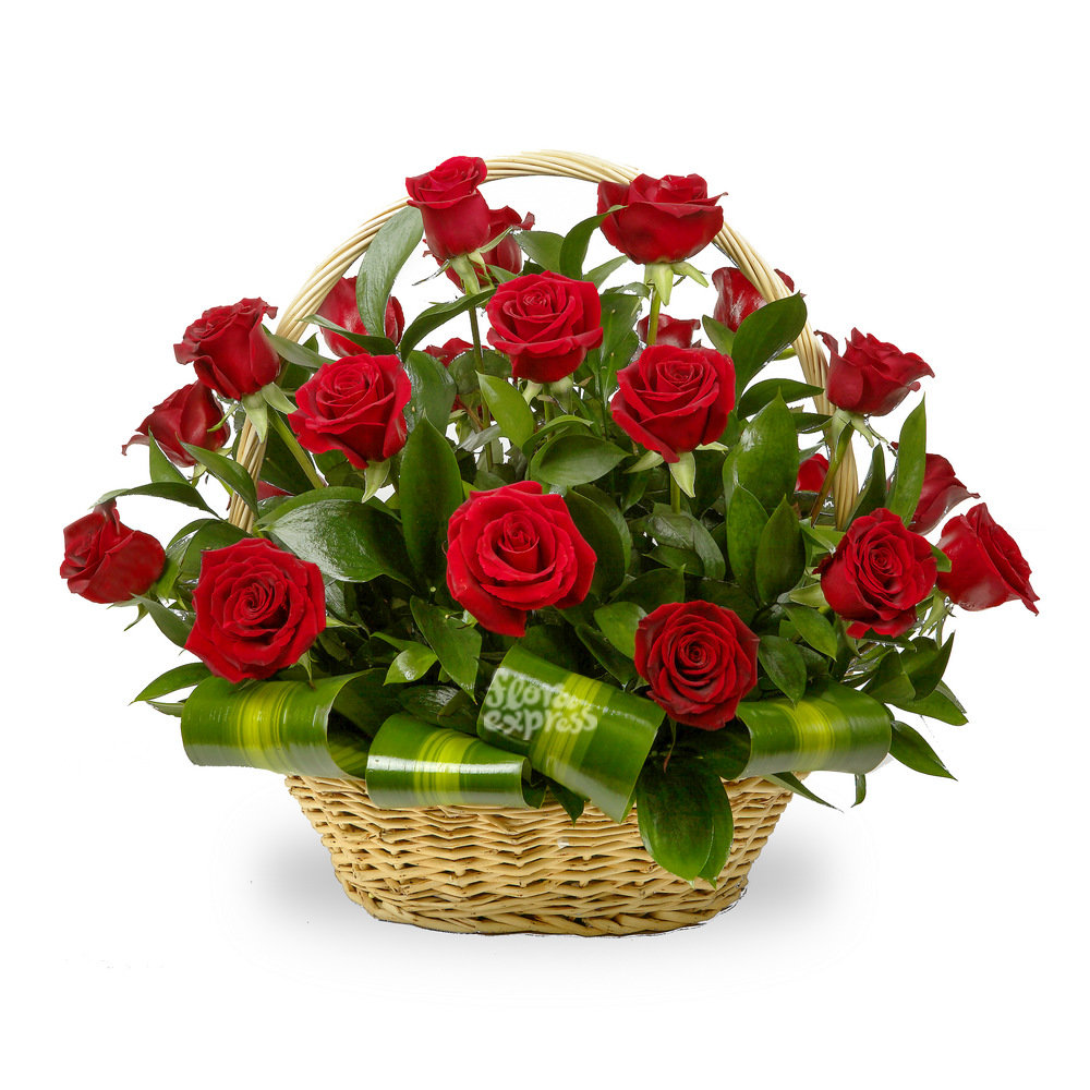 Открытка букет с цветами