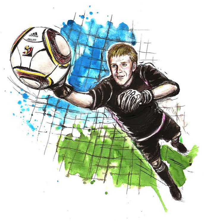 Картинки рисунки футбол