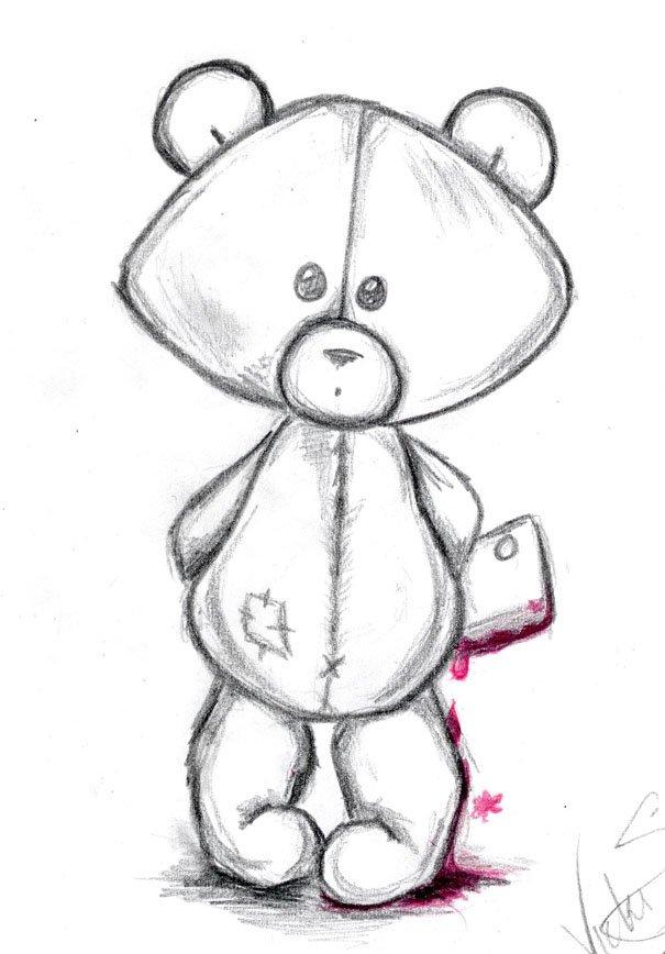 легкие рисунки смешные карандашом для начинающих