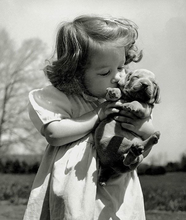 Ретро картинки дети черно белые, поздравления