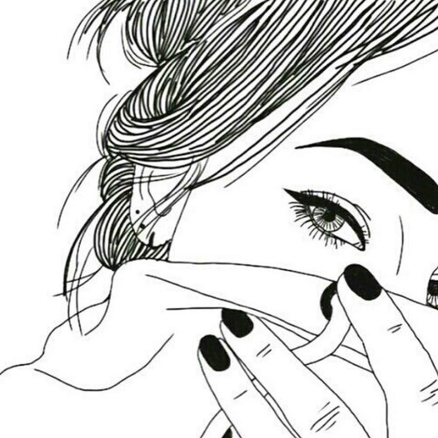 Картинки для срисовки легкие и красивые черно белые, гифы