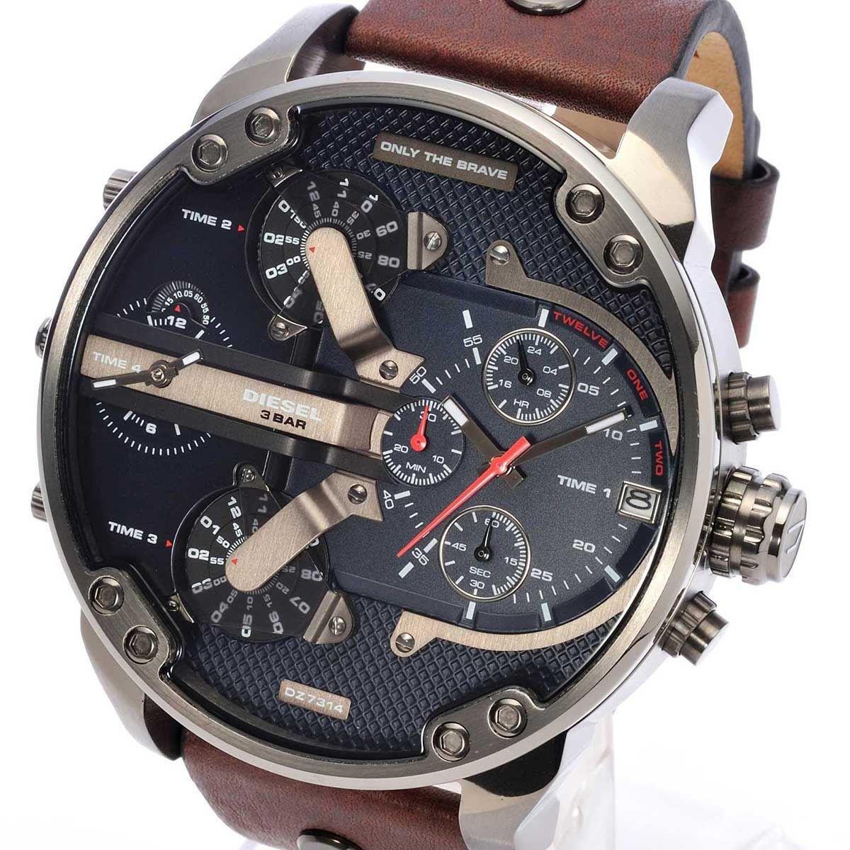 Основная причина, по которой нужно купить часы diesel brave – это их популярность и узнаваемость.