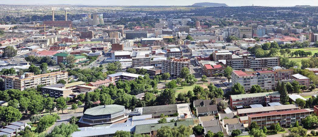 zadarmo dátumové údaje lokalít Bloemfontein