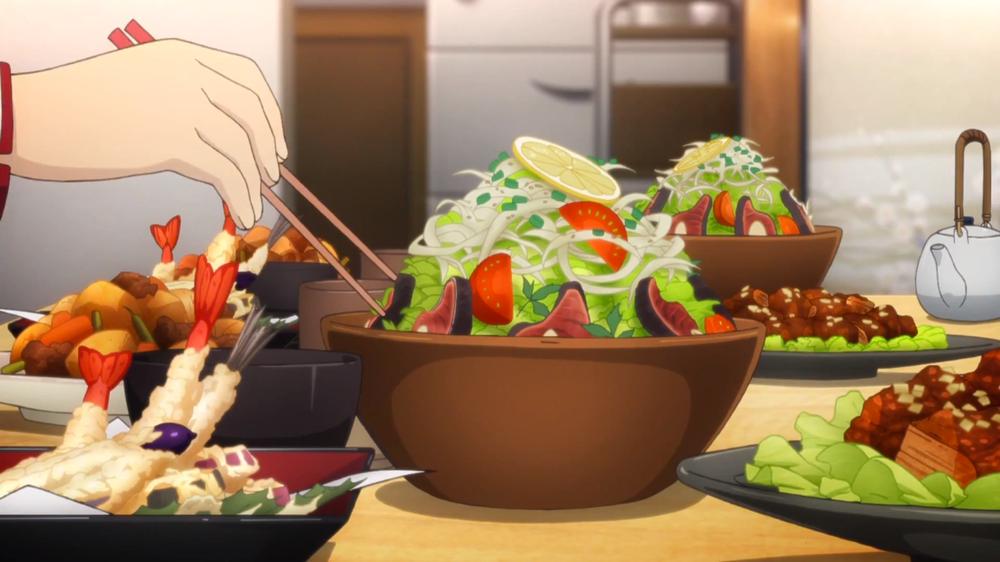 Аниме в картинках салаты