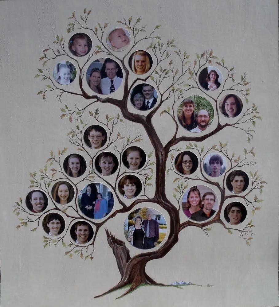 родственное дерево рисунок фото своими руками того, поддаётся