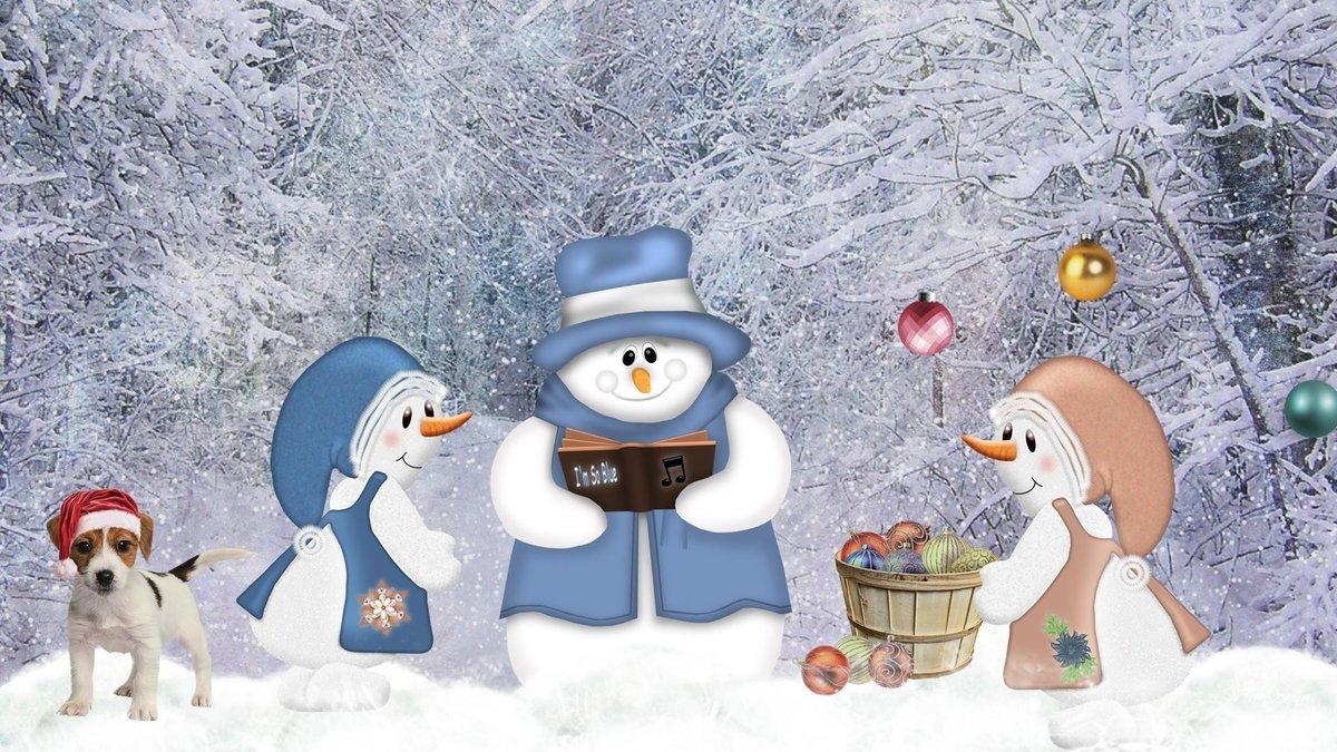 Прикольные картинки на зимнюю тематику, почте как