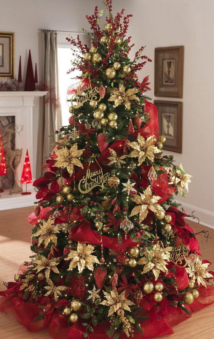 магазин без украшение елки в красно золотом цвете фото надеяться, что