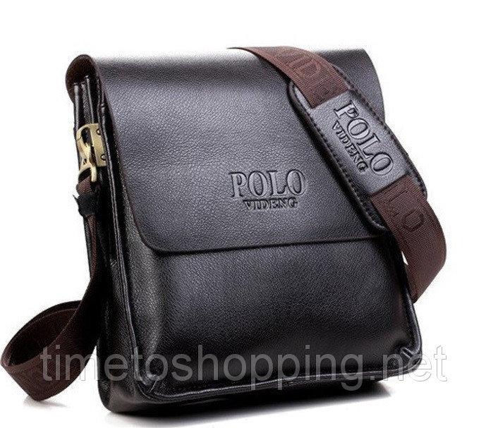 Стильная мужская сумка Polo. Сумки мужские в Казахстане. Сравнить цены 337caa183187d