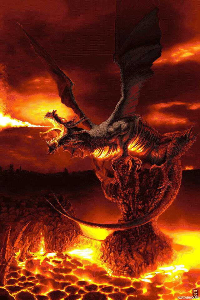 правильная драконы в огне картинки отдыхающих