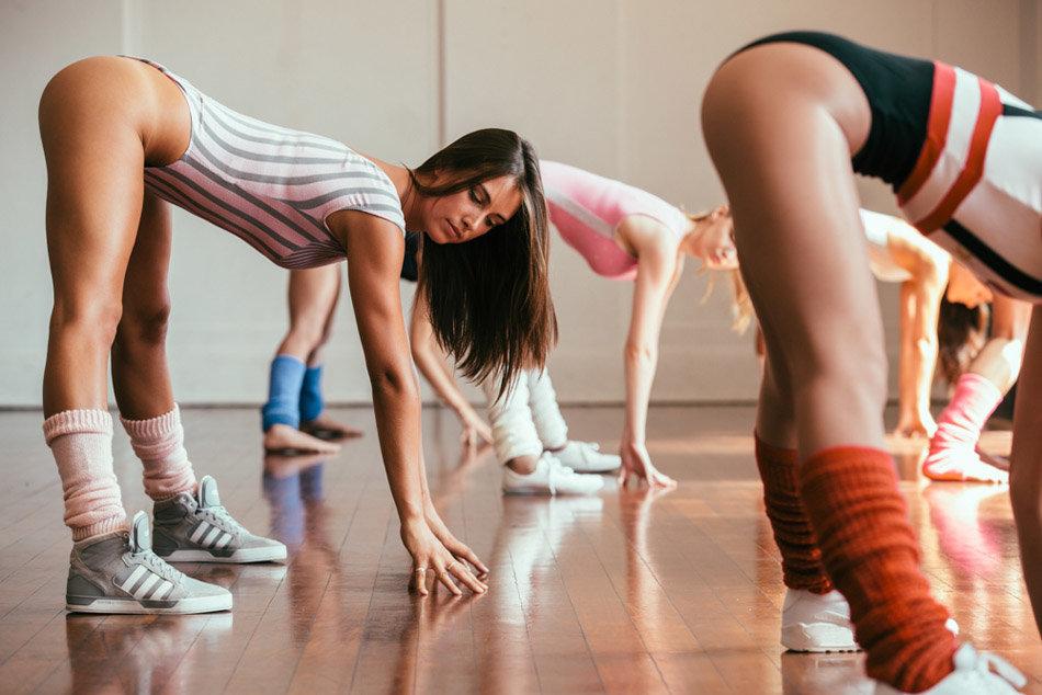ритмическая гимнастика девушек в нижнем белье видео фото - 4