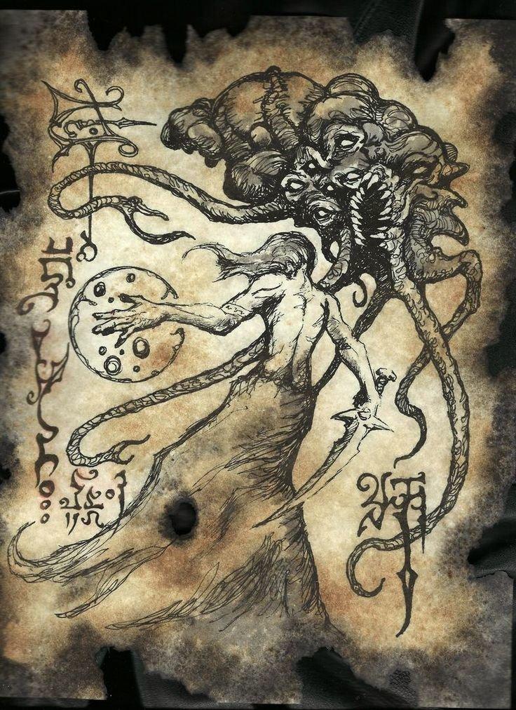 Картинки из книги по демонологии
