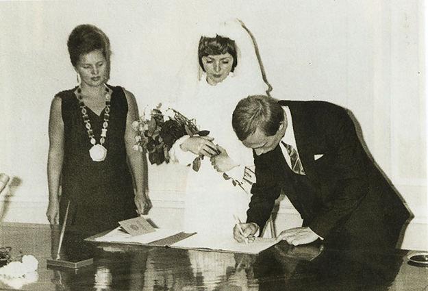 Свадьба Путиных.