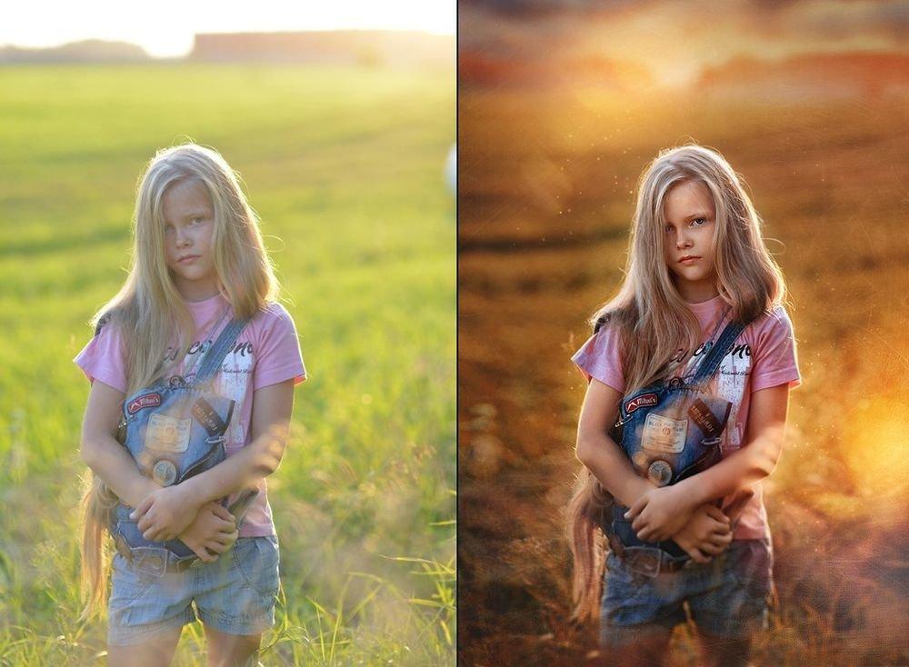 Как сделать фото похожим на картинку