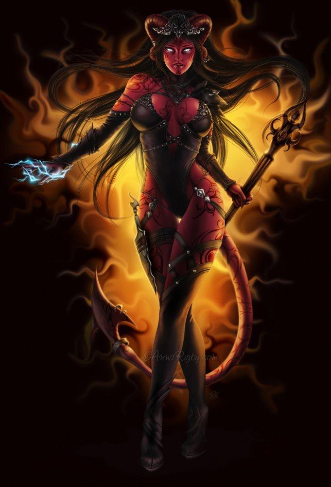 Fire By Jsonn Darkness In Fantasy Art Women Erocurves 1