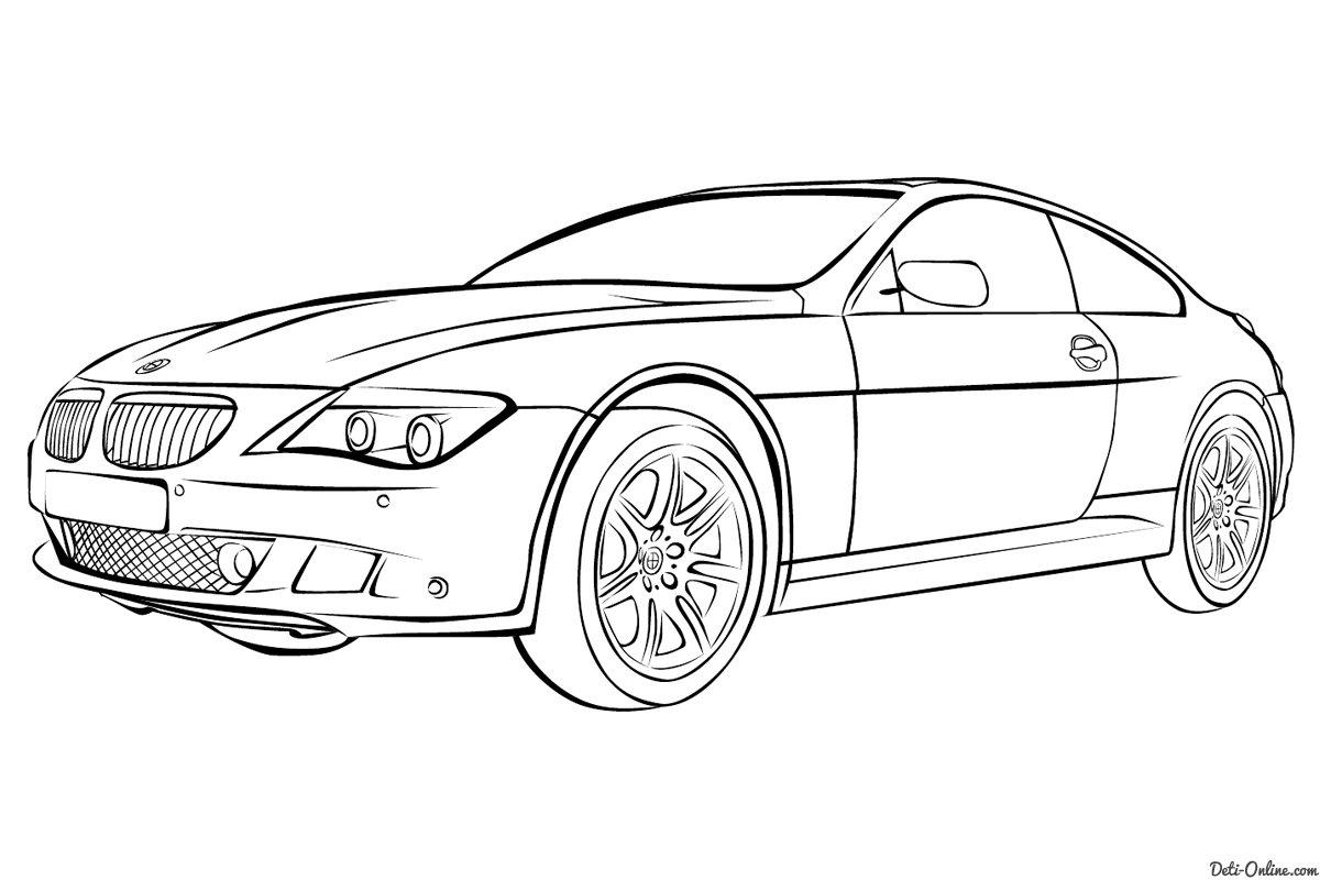 «Раскраска Машина БМВ» — карточка пользователя Марина И. в ...