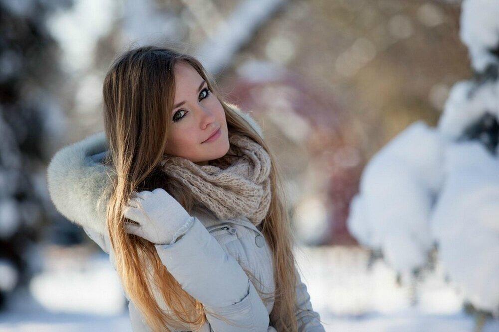 Картинки девушек зимой на аву, прикол картинки