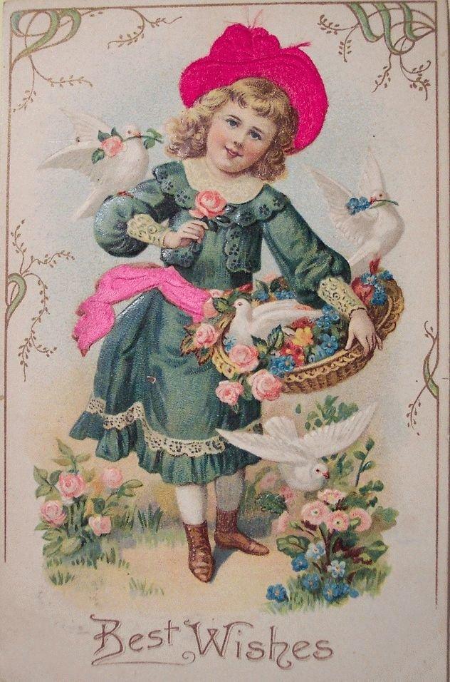 Татарскими праздниками, поздравления с днем рождения женщине красивые открытки старинные