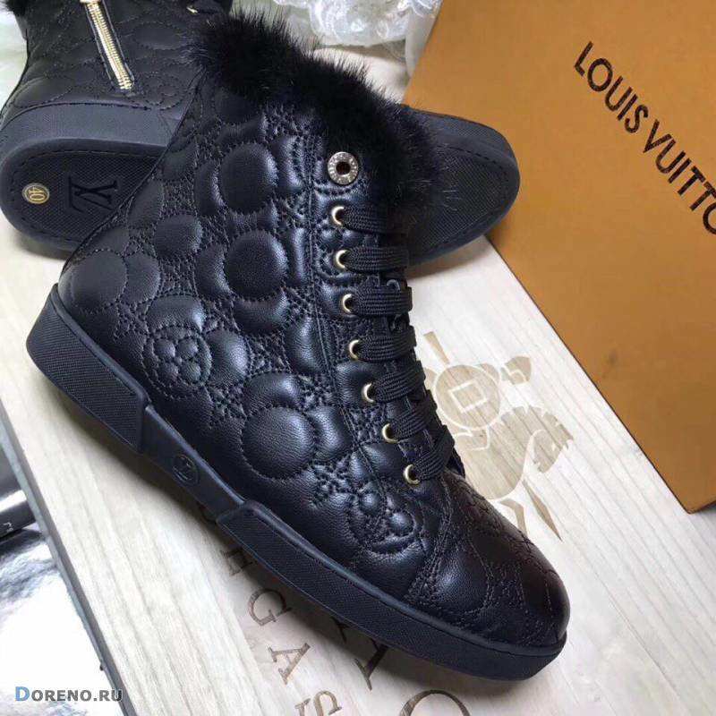 Сапоги зимние Louis Vuitton женские. Женская обувь - купить обувь женскую Луи  Виттон Подробности. 74835c27e6b