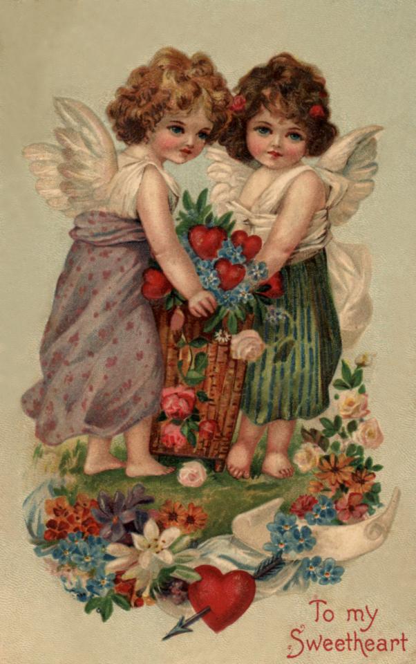 Год, мир открыток антикварные открытки