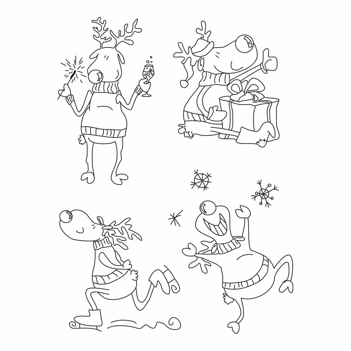 Рисунки маленькие с новым годом
