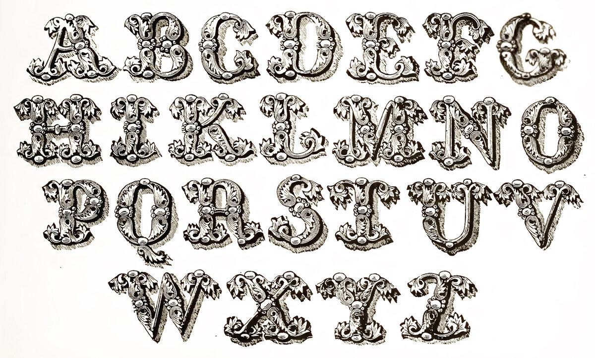 играет английский алфавит красивым шрифтом фото его подают
