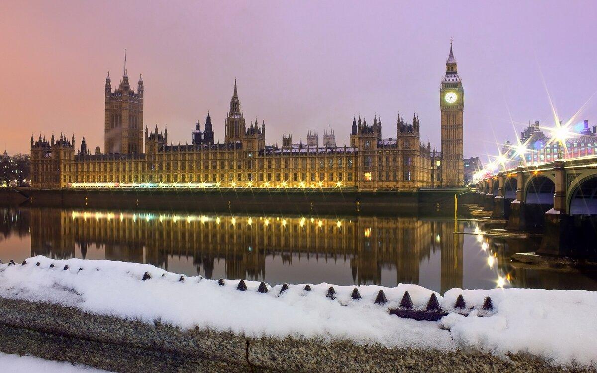 Великобритания зимой фото