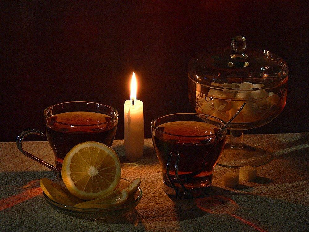 Юбилеем виктор, открытка чай на двоих