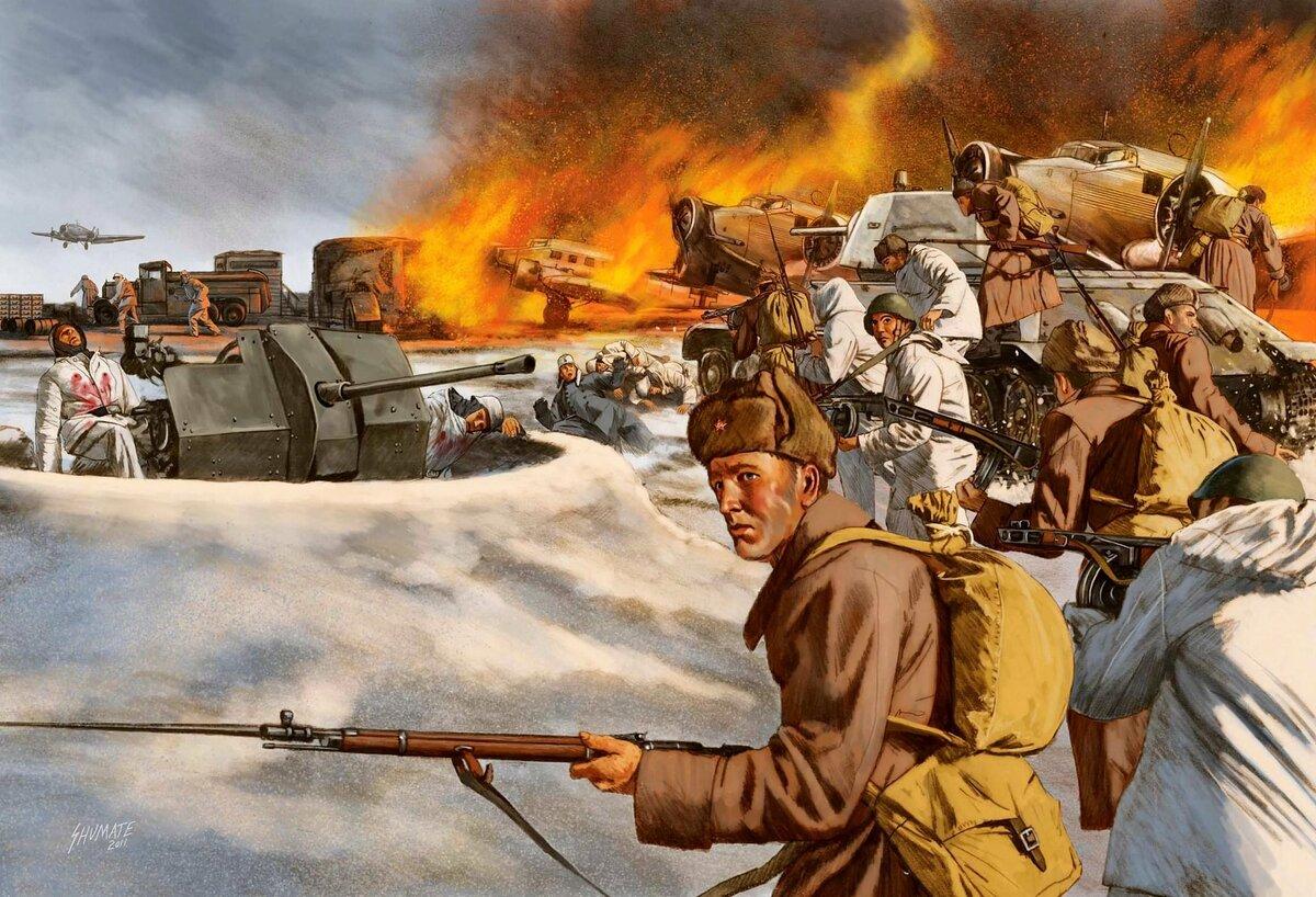 Война большие картинки
