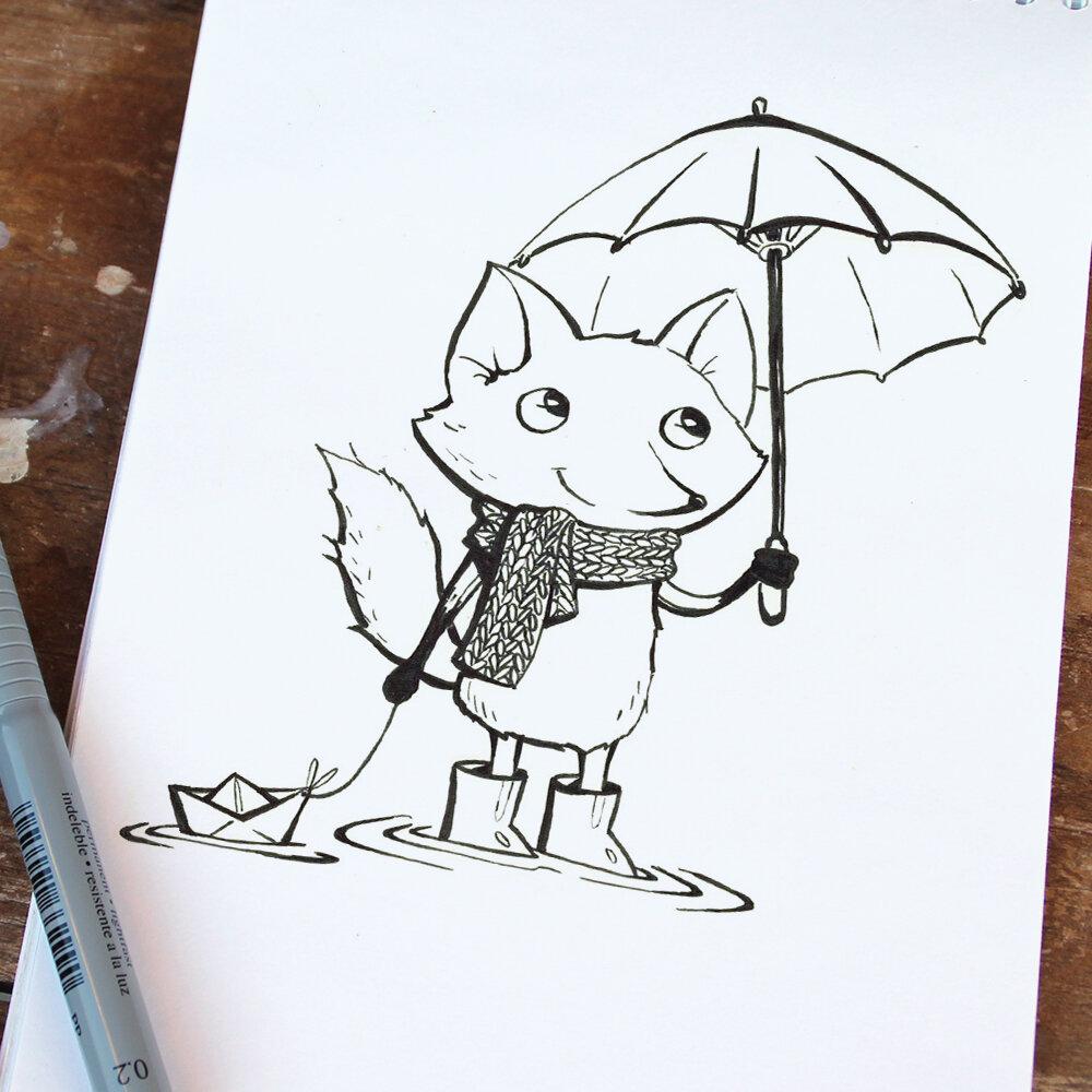 Картинки для срисовки легкие и прикольные няшные в скетчбук, картинки день