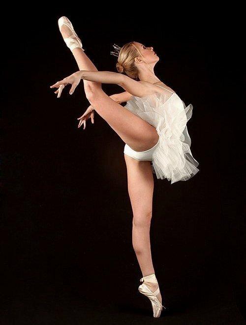 частное фото балерины сказала