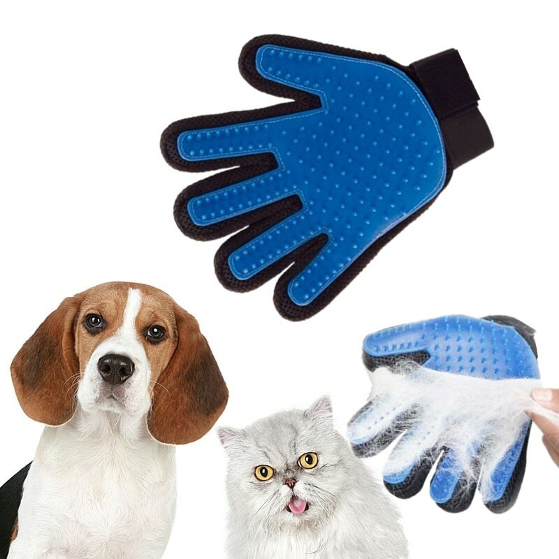Перчатка для расчеcки шерсти животных в Петропавловске
