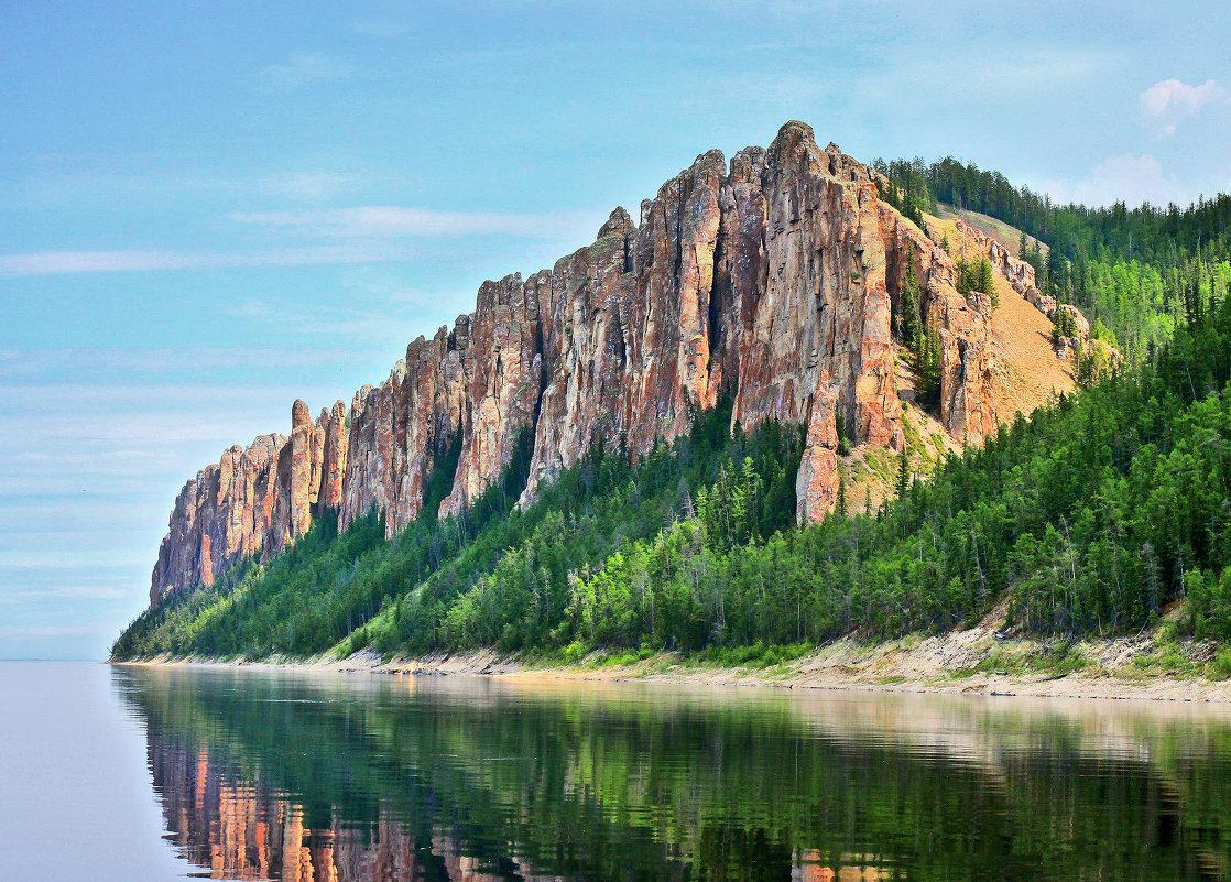 Фото ленские столбы россия река лена