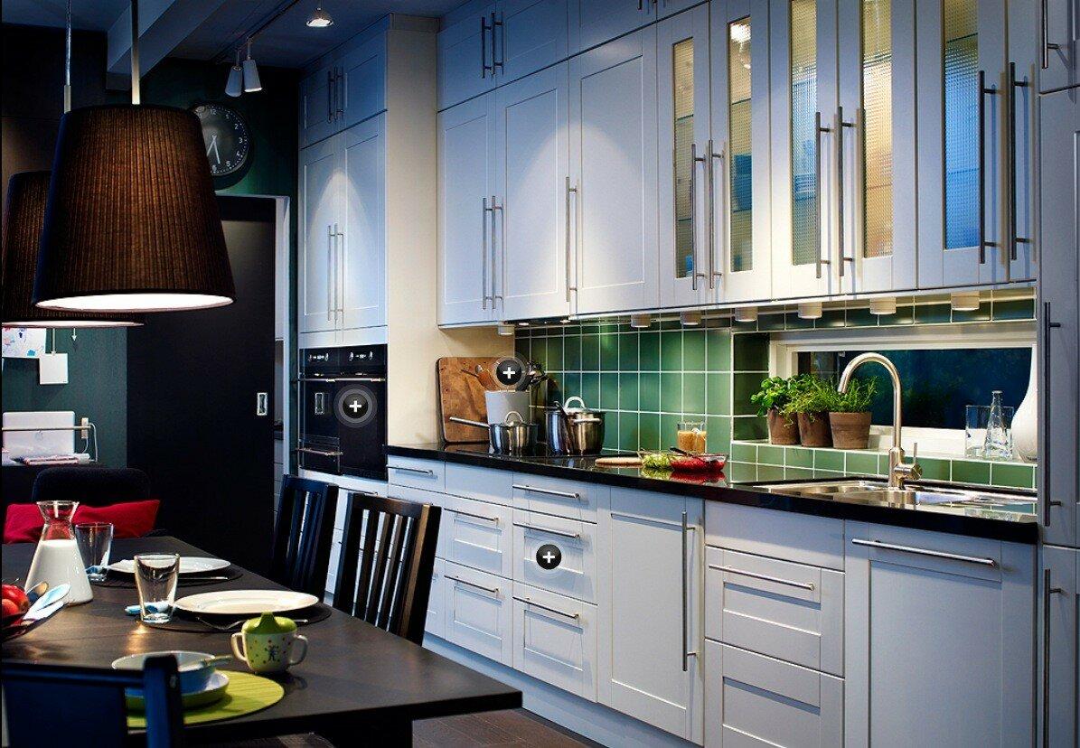 кухни из икеа картинки первым среди
