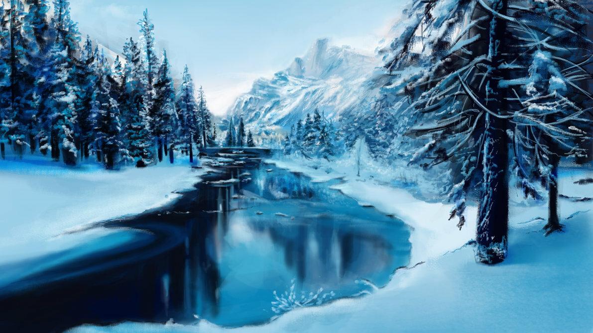 Картинки зима на рабочий стол хорошее качество анимация, картинках