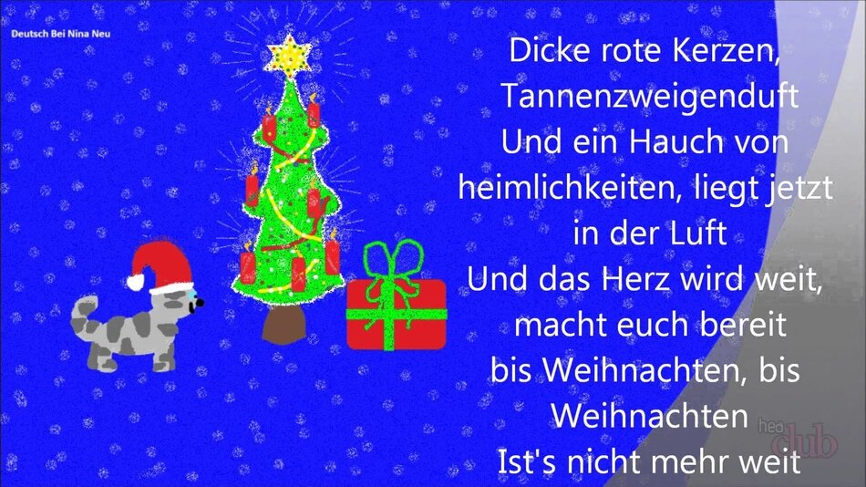 бутылок немецкие стихи к новому году наполни