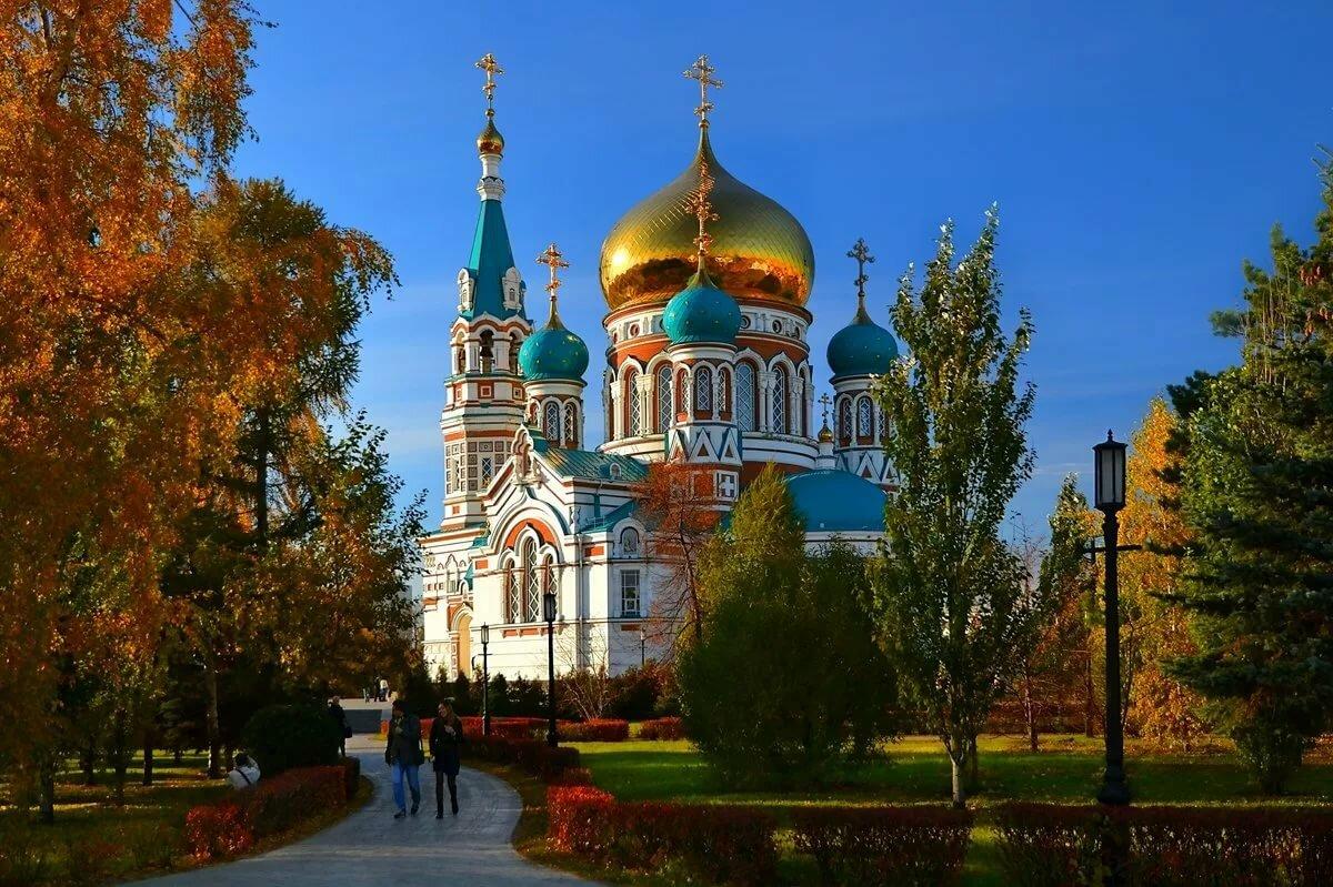 Успенский собор омск картинка